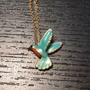 kate spade Jewelry - Kate Spade hummingbird necklace